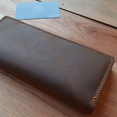 distressed-leather-long-bifold-wallet-dompet-kulit-panjang-crazy-horse