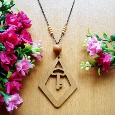 kalung-geometric-wooden-kayu