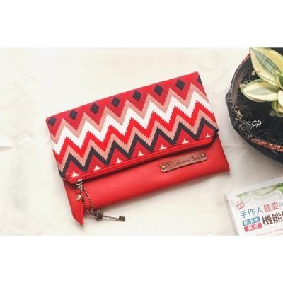 befolded-clutch-katun-batik-merah