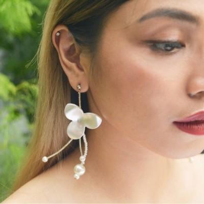 estrella-earring-white