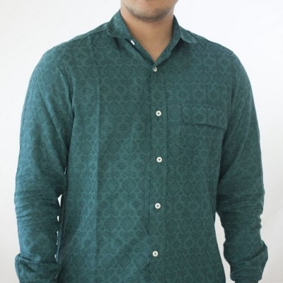 casual-tenun-dark-green