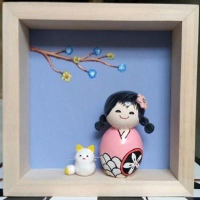 boneka-jepang-pink