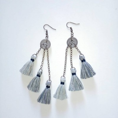 sarah-3tone-earring-anting-handmade
