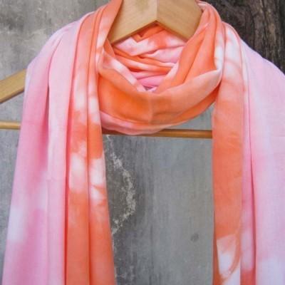 pashmina-shibori-pink-orange