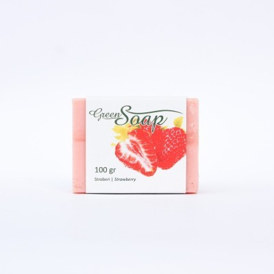 strawberry-soap