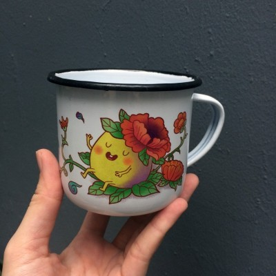 mug-enamel-kue-gemes-oriental-8-x-8-cm