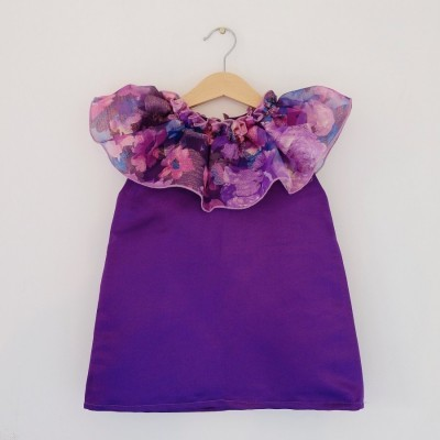 ruffle-neck-boho-dress-royal-purple-