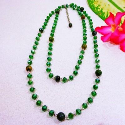 kalung-b017-agate-hijau-kristal-hijau-panjang