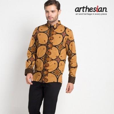 arthesian-kemeja-batik-pria-kawung-circlet-batik-printing