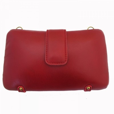 leather-clutch-red
