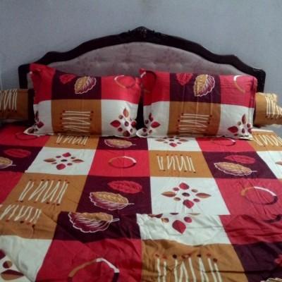 bedcover-set-rosalia-daun-red-uk.200-cm