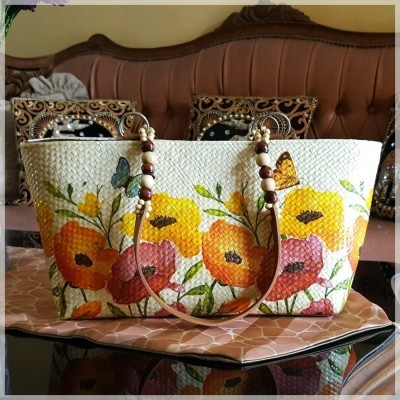 etnic-tote-decoupage-orange-flower
