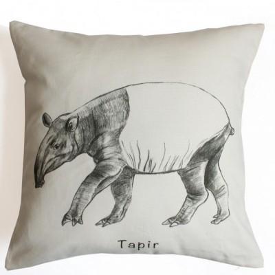 cotton-canvas-cushion-cover-tapir