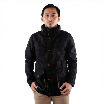 twickenham-jaket-parka-brooklyn-hoodie-pria-hitam