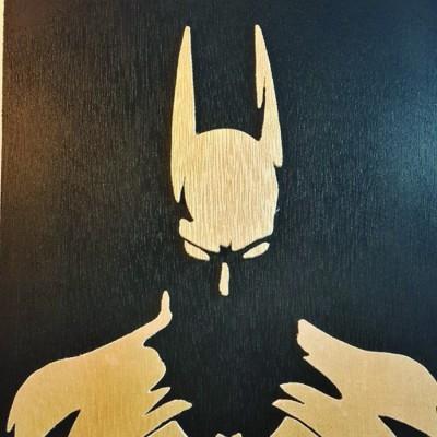 wooden-silhouette-batman