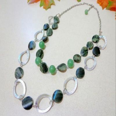 kalung-b020-batu-malachite-nephrite-app-big-ring