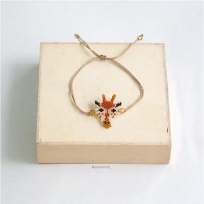 gelang-manik-giraffe