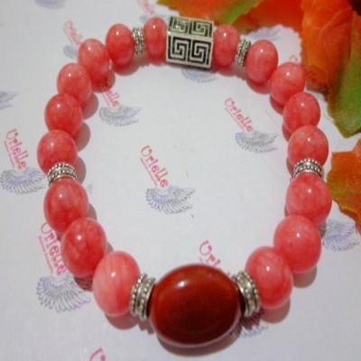 gelang-ab71-batu-pink-agate-jasper