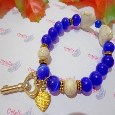 gelang-ab88-batu-cat-eye-biru-turquois-app-key-heart