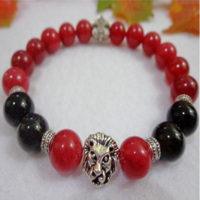 gelang-ab95-batu-red-carnelian-onyx-skt-lion-fleur-de-lis