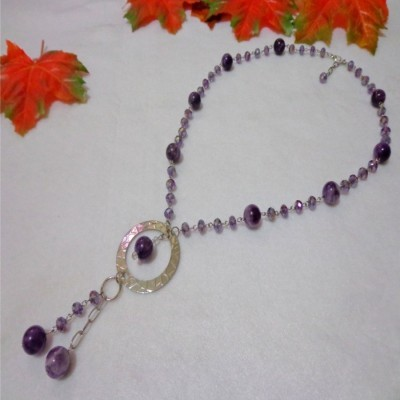 kalung-b036-batu-amethyst-crystal-app-single-ring