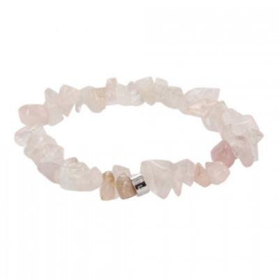 rose-quartz-chip-bracelet