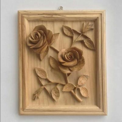 hiasan-dinding-panel-motif-bunga-mawar