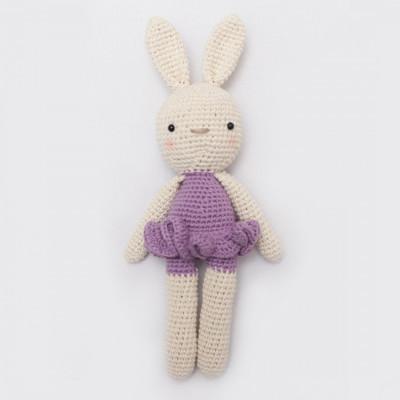 boneka-rajut-kelinci-balerina