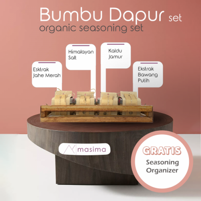masima-organic-seasoning-set-paket-bumbu-dapur-masak-organik-lengkap-free-rak-bumbu-kayu