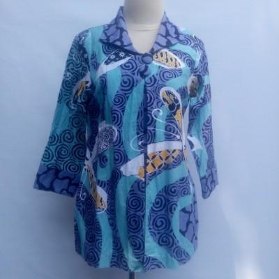 blouse-batik-tulis-kontemporer
