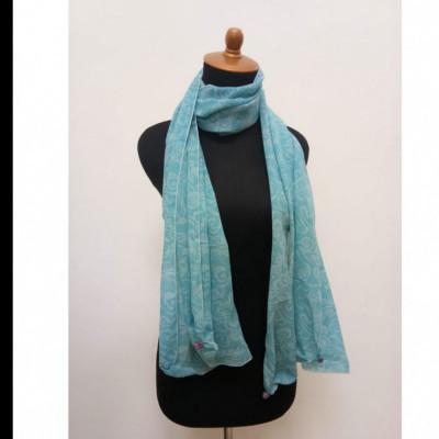 gesyal-reversible-sifon-scarf-travelling-wanita-biru