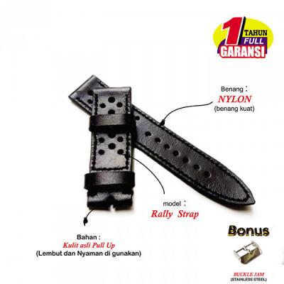 tali-jam-tangan-kulit-asli-sapi-model-rally-warna-hitam-garansi-1-tahun
