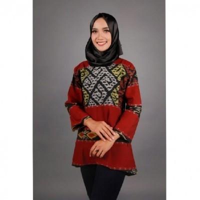 baju-tenun-puteri-series-maroon