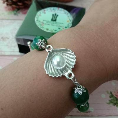 gelang-kerang-cantikbatu-hijau