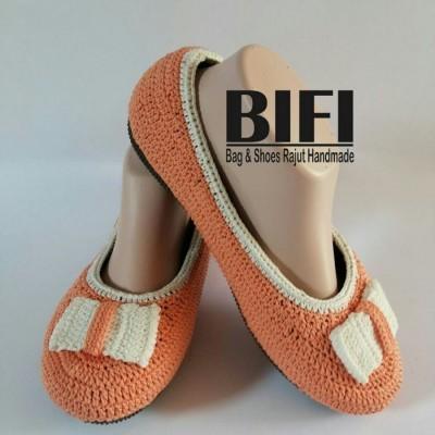 flatshoes-rajut-size-39-orange