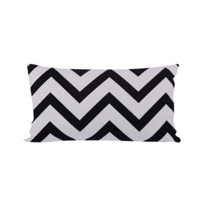black-chevron-cushion-30-x-50