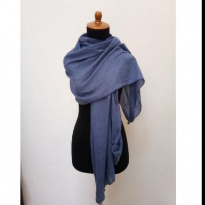 gesyal-syal-travelling-wanita-katun-voile-scarf-biru