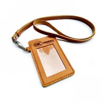 name-tag-kulit-asli-logo-askrindo-warna-tan-tempat-id-card