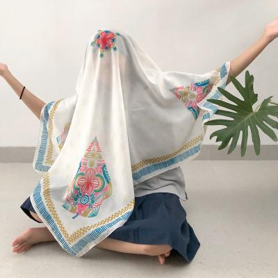 scarf-006wayang