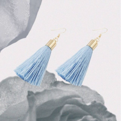 baby-blue-tassel-earings