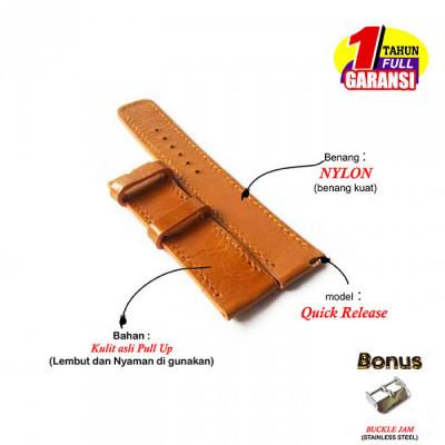 tali-jam-tangan-kulit-asli-model-quick-release-size-22-mm-warna-tan-garansi-1-tahun