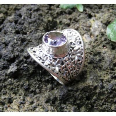 cincin-perak-motif-bunga-batu-amethyst-100271
