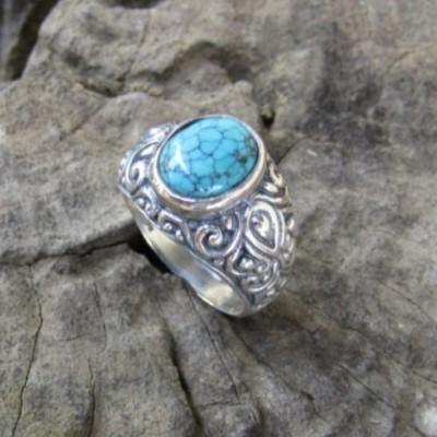cincin-perak-motif-ukiran-simpel-batu-turquoise-100337