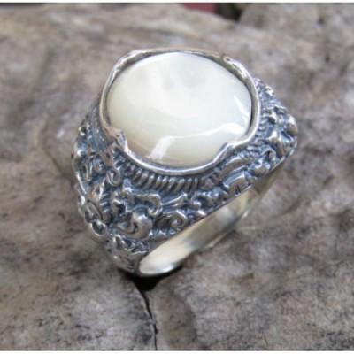 cincin-perak-motif-ukiran-patra-bali-batu-kerang-100263