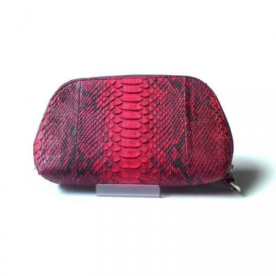 tas-clutch-kulit-asli-ular-phyton-warna-merah-tas-clutch-