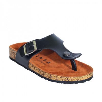 zensa-footwear-erina-black-sandal-slipper-wanita-original