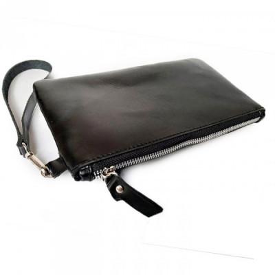 clutch-kulit-asli-sapi-warna-hitam-garansi-1-tahun-dompet-pouch.-pouch-kulit.-dompet-wanita