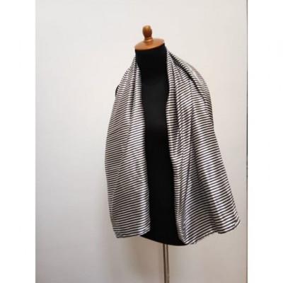 gesyal-scarf-travelling-wanita-silky-zebra-multicolor