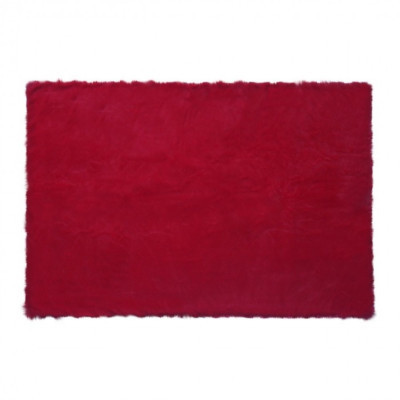 square-red-chilli-fur-rug-100-x-150