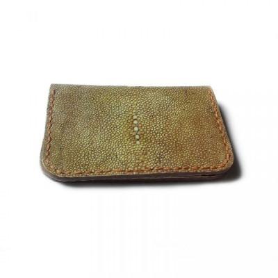 dompet-kartu-kulit-asli-ikan-pari-handmade-finishing-polish-dompet-kulit-aslidompet-kulit-priadompet-pari